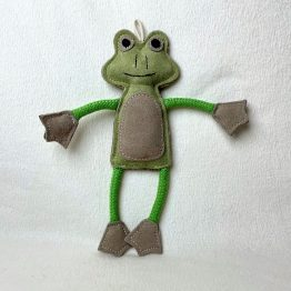 dog-toy-Francois-the-Frog